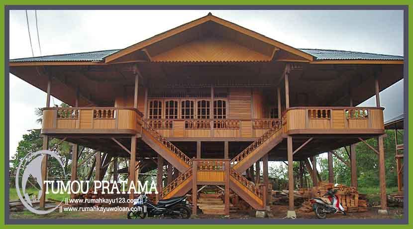 Rumah Adat Minahasa 170