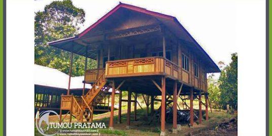 Rumah Kayu 96 m2 (8 x 12) – Model A