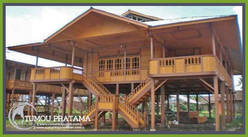 Rumah Panggung Minahasa 169