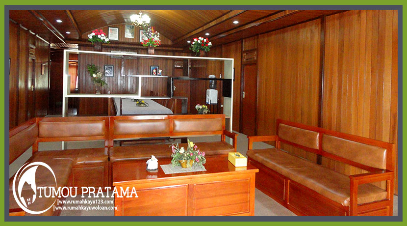 Interior Rumah Panggung Sail Tomini 2015 Palu