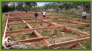 Pesanan Rumah Kayu di Kalimantan