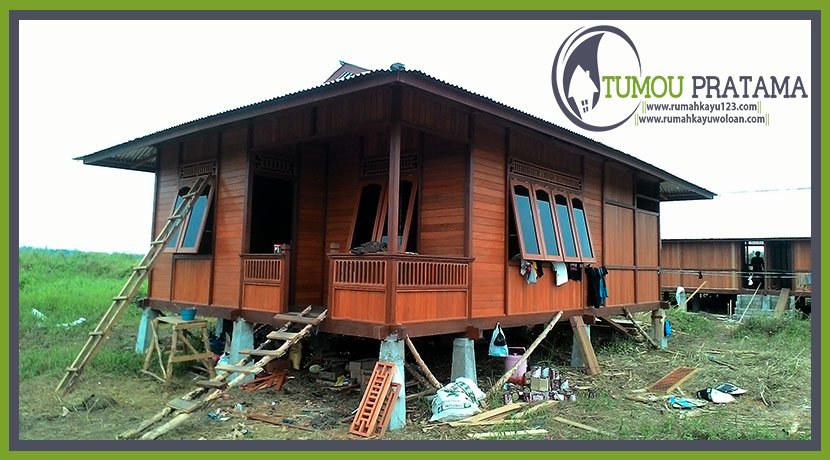 Rumah Kayu Kalimantan