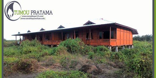 Rumah Kayu 270 m2 – Palangkaraya – Kalimantan Tengah