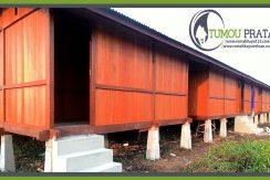 Perakitan Rumah Kayu Kalimantan