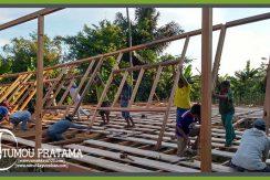 Proses Kerja Rumah Panggung Sail Tomini 2015 Palu