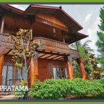 Rumah Kayu tipe 198 di Bandung