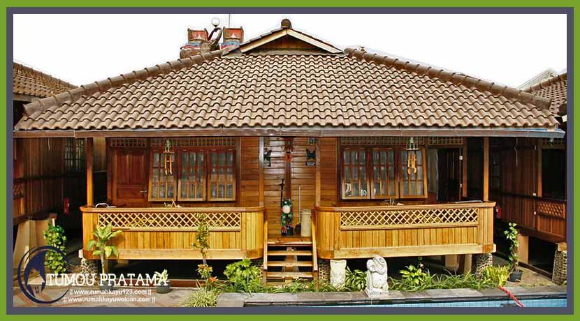 Rumah Kayu Tipe 32