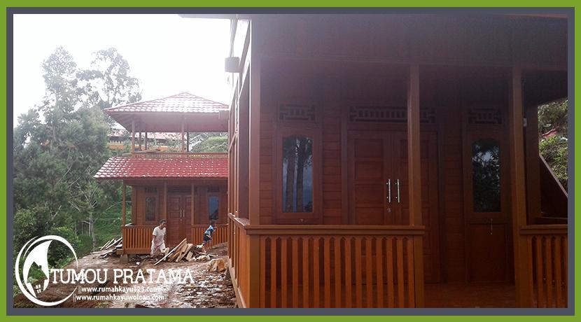 Rumah Kayu Toraja