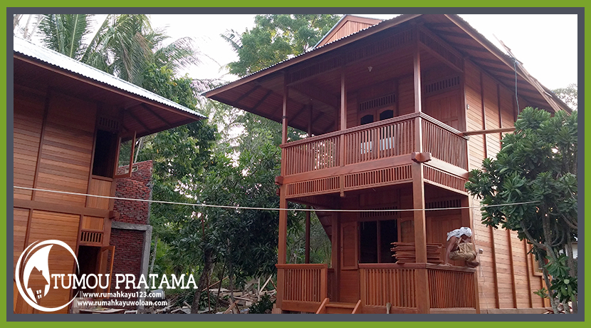 Rumah Kayu di Bunaken
