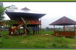 Rumah Kayu di Jogjakarta