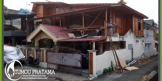 Rumah Kayu Tipe 100 | Manado – Maumbi