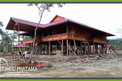 Rumah Panggung Sail Tomini 2015 Palu