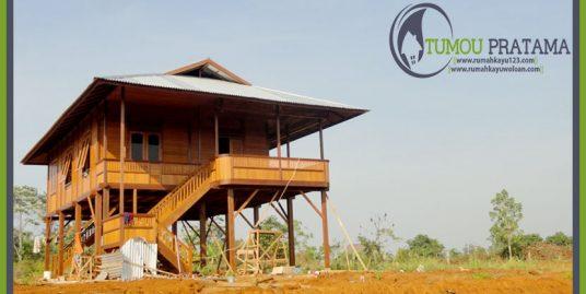 Rumah Panggung Tipe 96 m2 | Malili – Luwu Timur