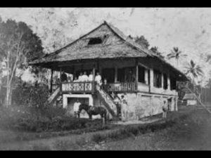 Foto Rumah Adat Minahasa
