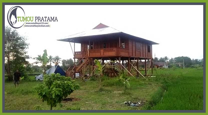 Rumah Kayu Tipe 96 | Yogyakarta – Sleman