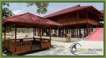 Rumah Panggung di Lokasi Sail Tomini 2015